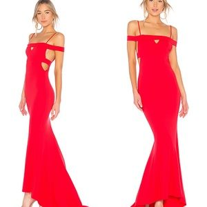 LOVERS + FRIENDS REVOLVE Red Acevez Gown